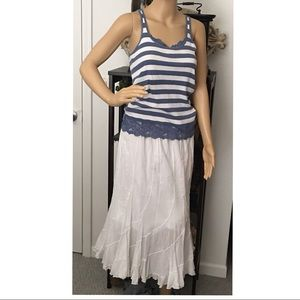 👗❤️Adorable cotton maxi skirt